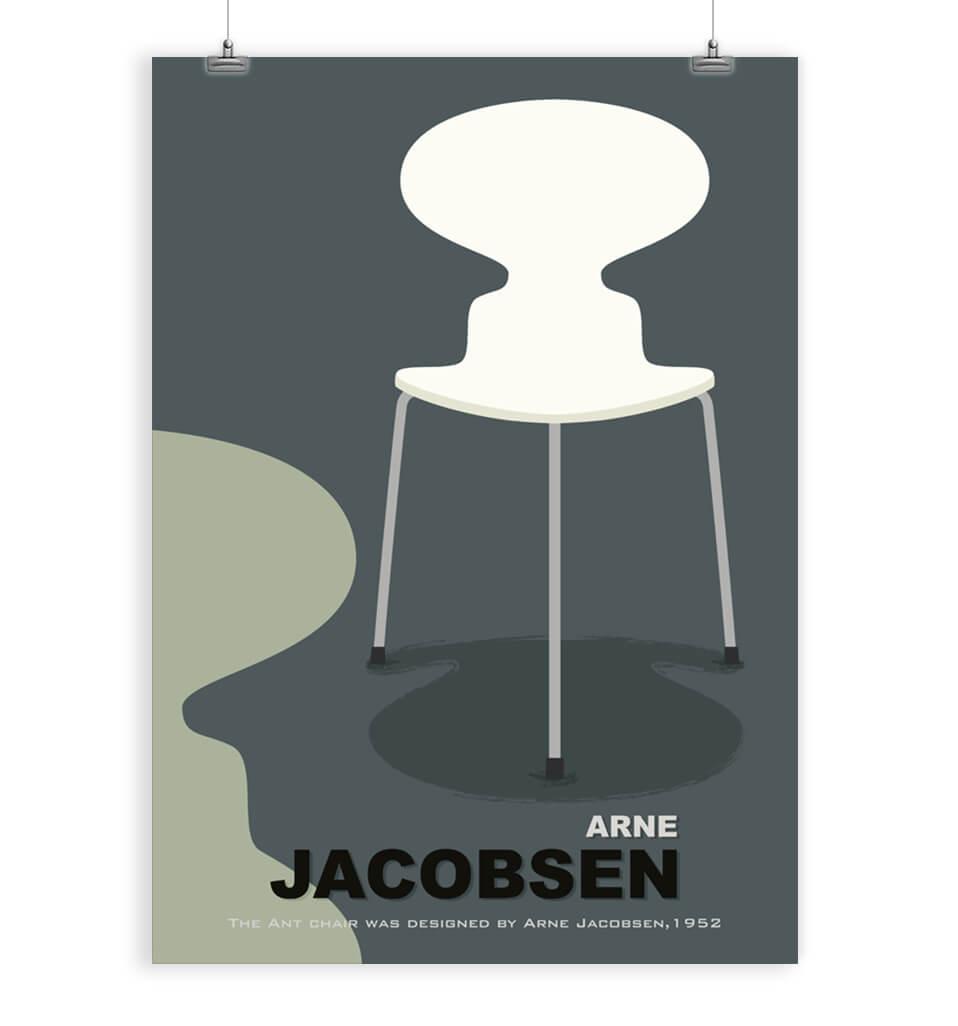 Fantastic Danish Modern Art Print Frankydiablos Diy Chair Ideas Frankydiabloscom