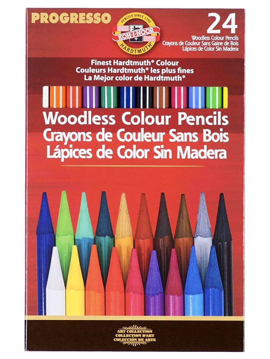 30 Professional Colour Therapy Colouring Pencil Crayons Quality Relaxing